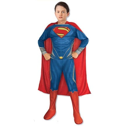 Superman - Man of Steel Kids Costume-0