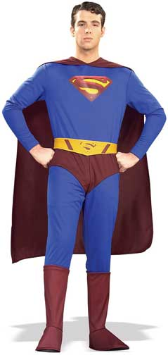 Adult Superman Costume-0