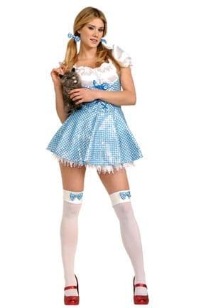 Sequin Dorothy Adult Costume-0