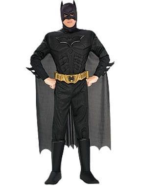 Deluxe Muscle Chest Dark Knight Batman Costume-0