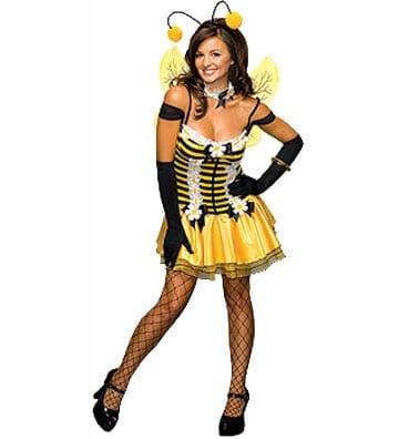 Honey Bee Ladies's Costume-0
