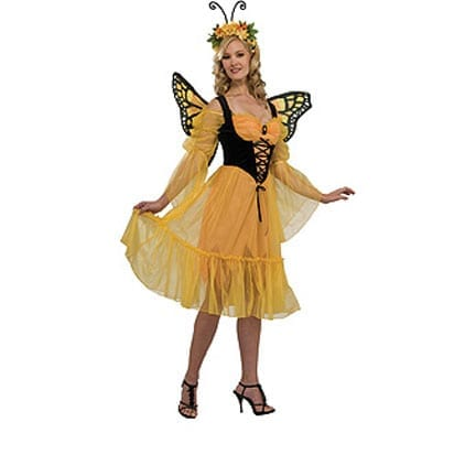 Monarch Butterfly Adult Costume-0