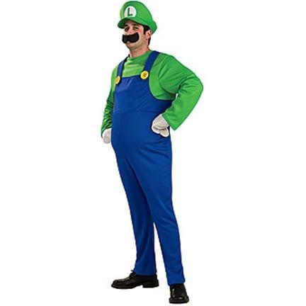 Deluxe Luigi Costume-0