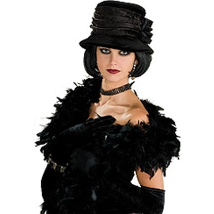 Black Velvet Hat-0