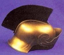 Roman Helmet with Brush-0