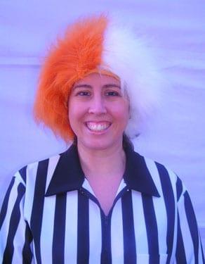 Spirit Wig Burnt Orange/White-0
