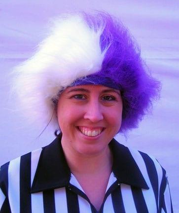 Spirit Wig Purple/White-0