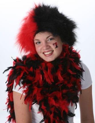 Red/Black Spirit Wig-0