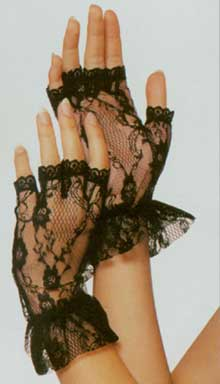 Wrist Lace Adult Gloves-0