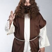 Jesus or Hippie Wig-0