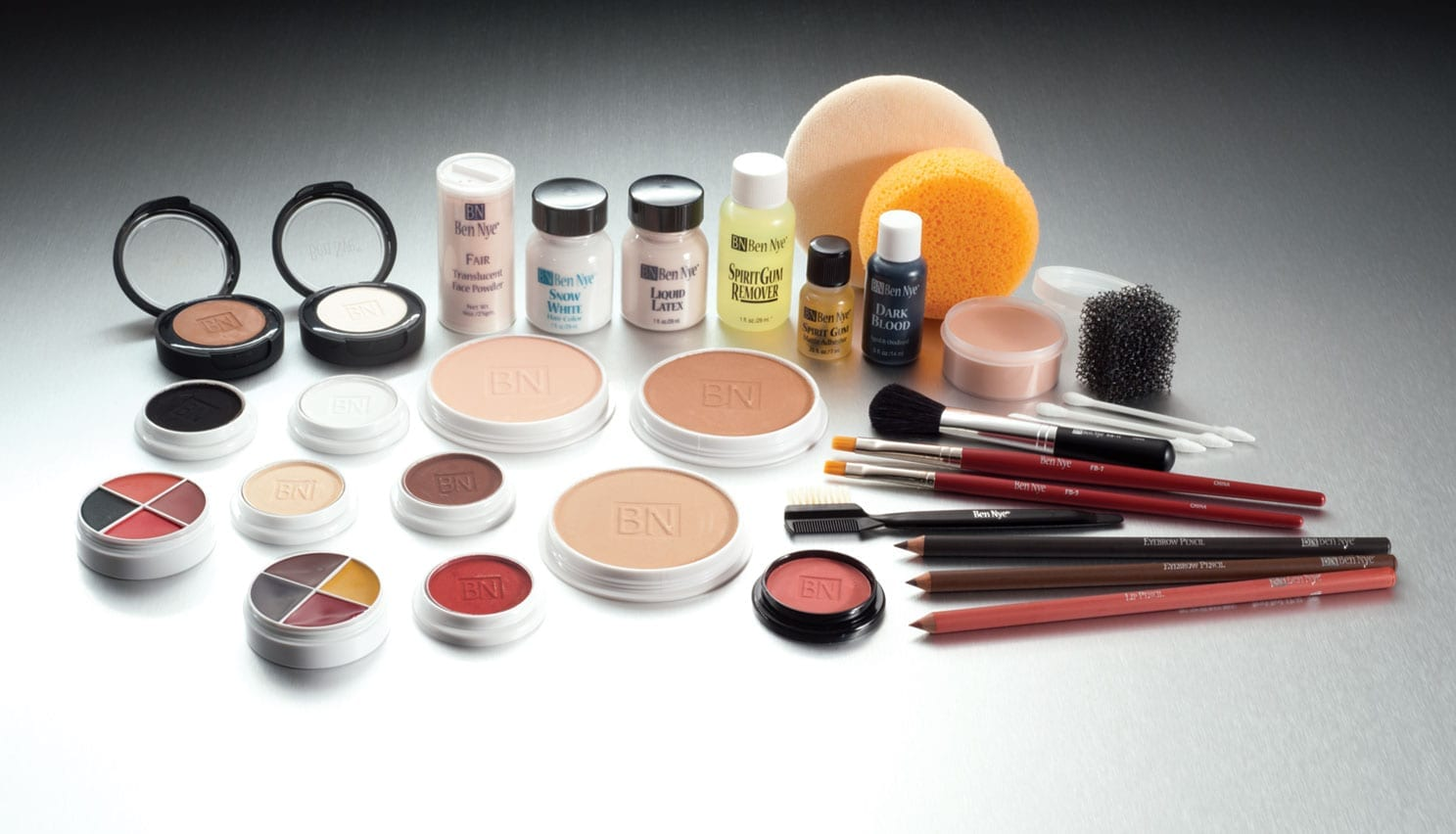 Ben Nye Professional Cake Makeup Kit