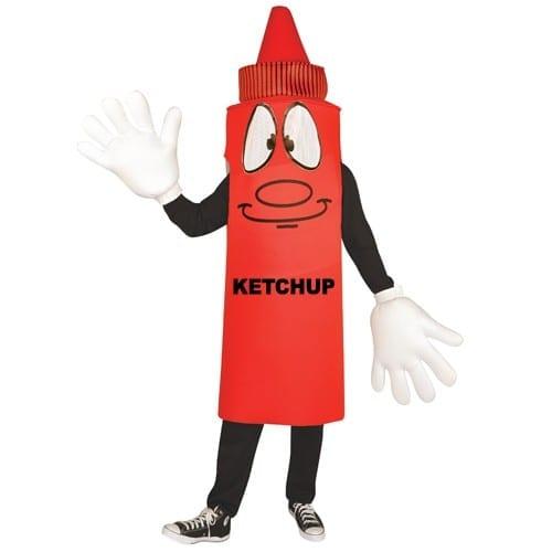 Ketchup Waver Mascot Costume-0