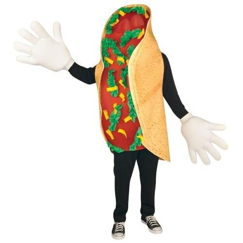 Taco Waver Mascot Costume-0
