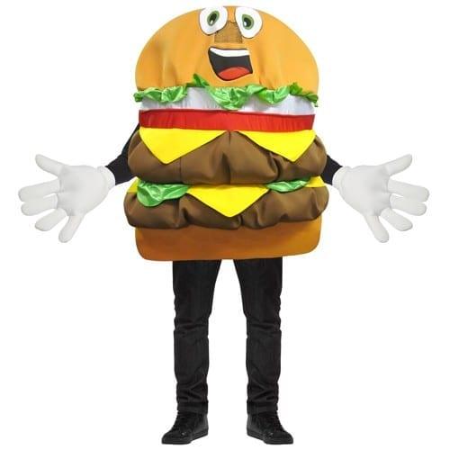 Cheeseburger Waver Mascot Costume-0