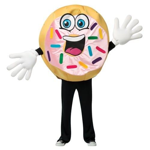Donut Waver Mascot Costume-0