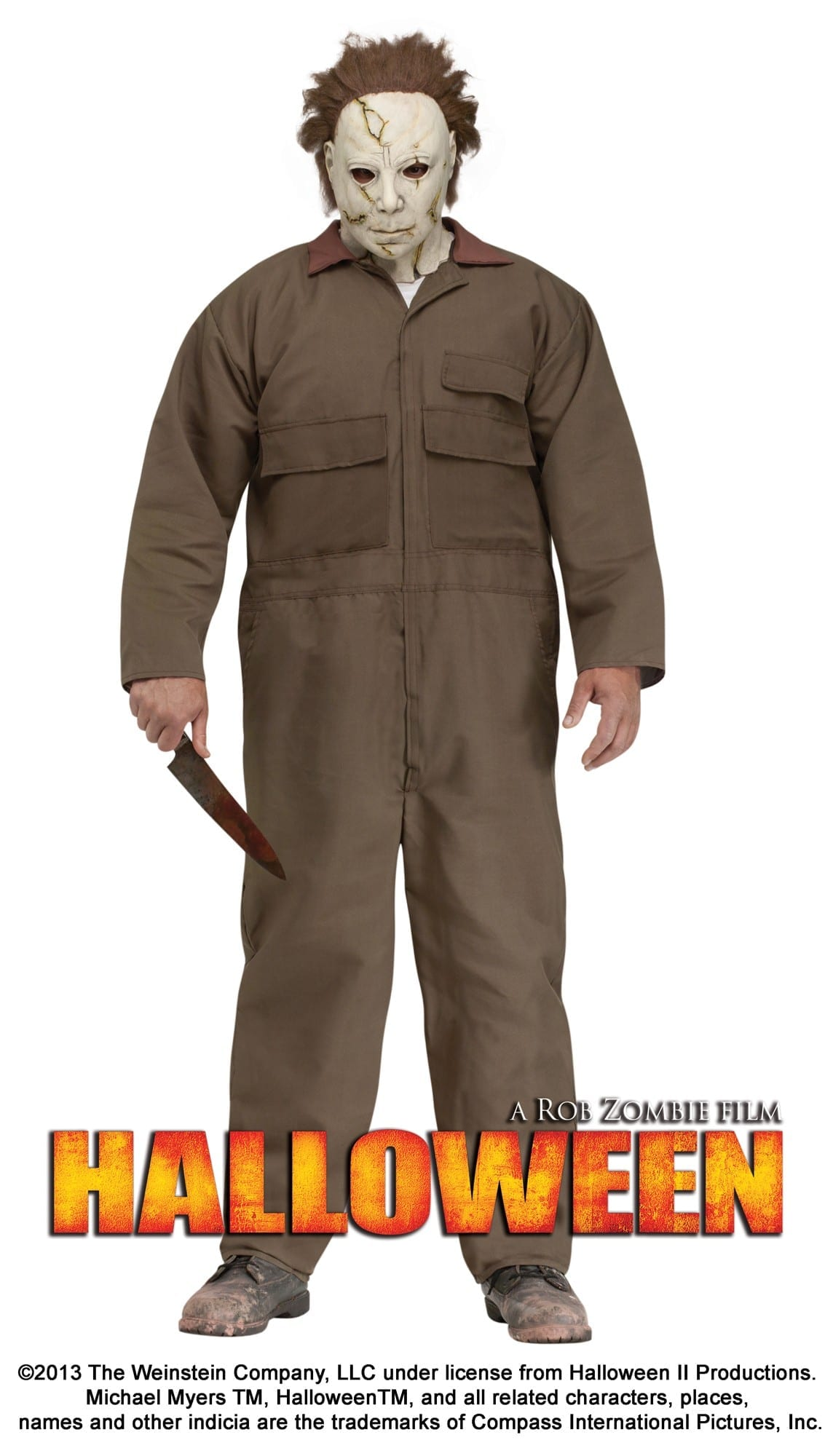 Micheal Myers Halloween Plus Size Adult Costume-0