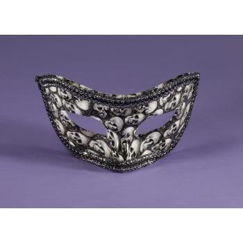 Bone Collector Venetian Half Mask-0