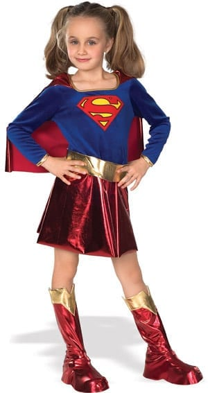 Supergirl Children's Costume-0