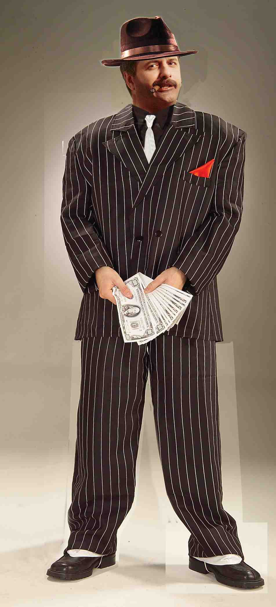 Chicago Gangster Adult Costume-0