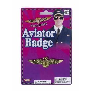 Aviator Badge - Gold-0