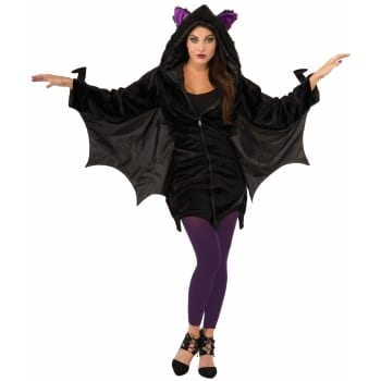 Bat Hoodie Adult Costume-0