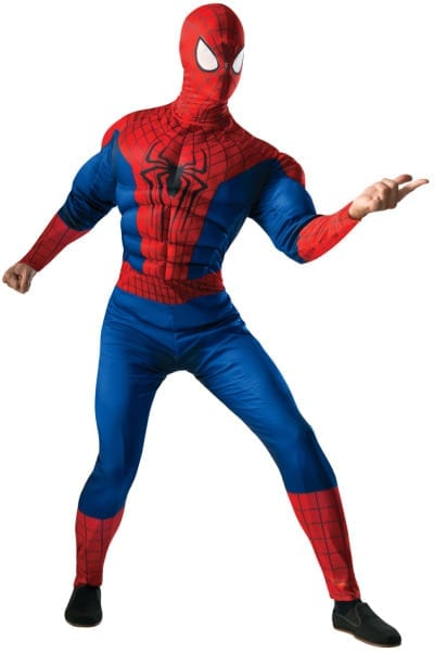 Deluxe Adult Spider-Man Costume-0