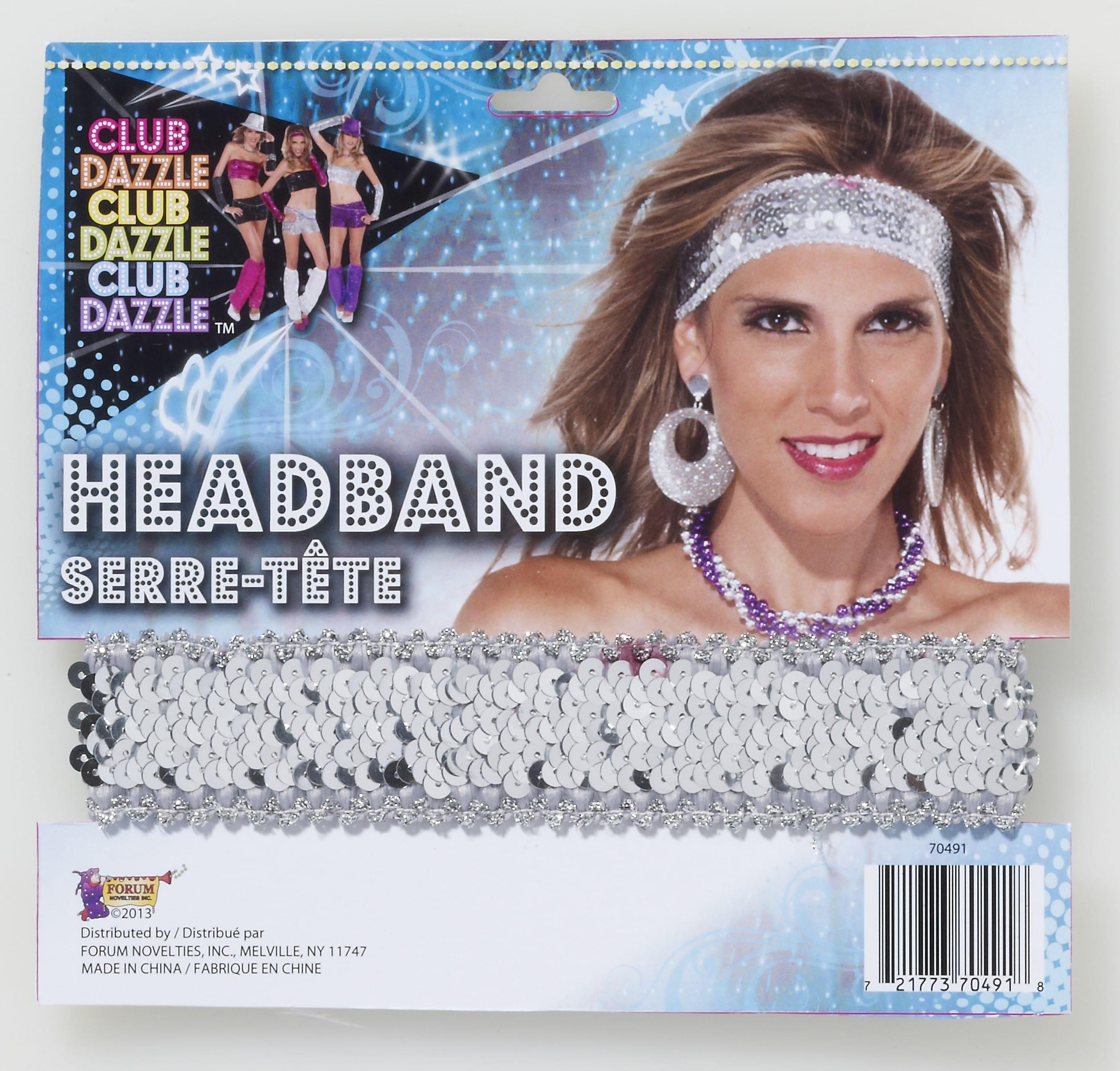 80's Sequin Headband-0