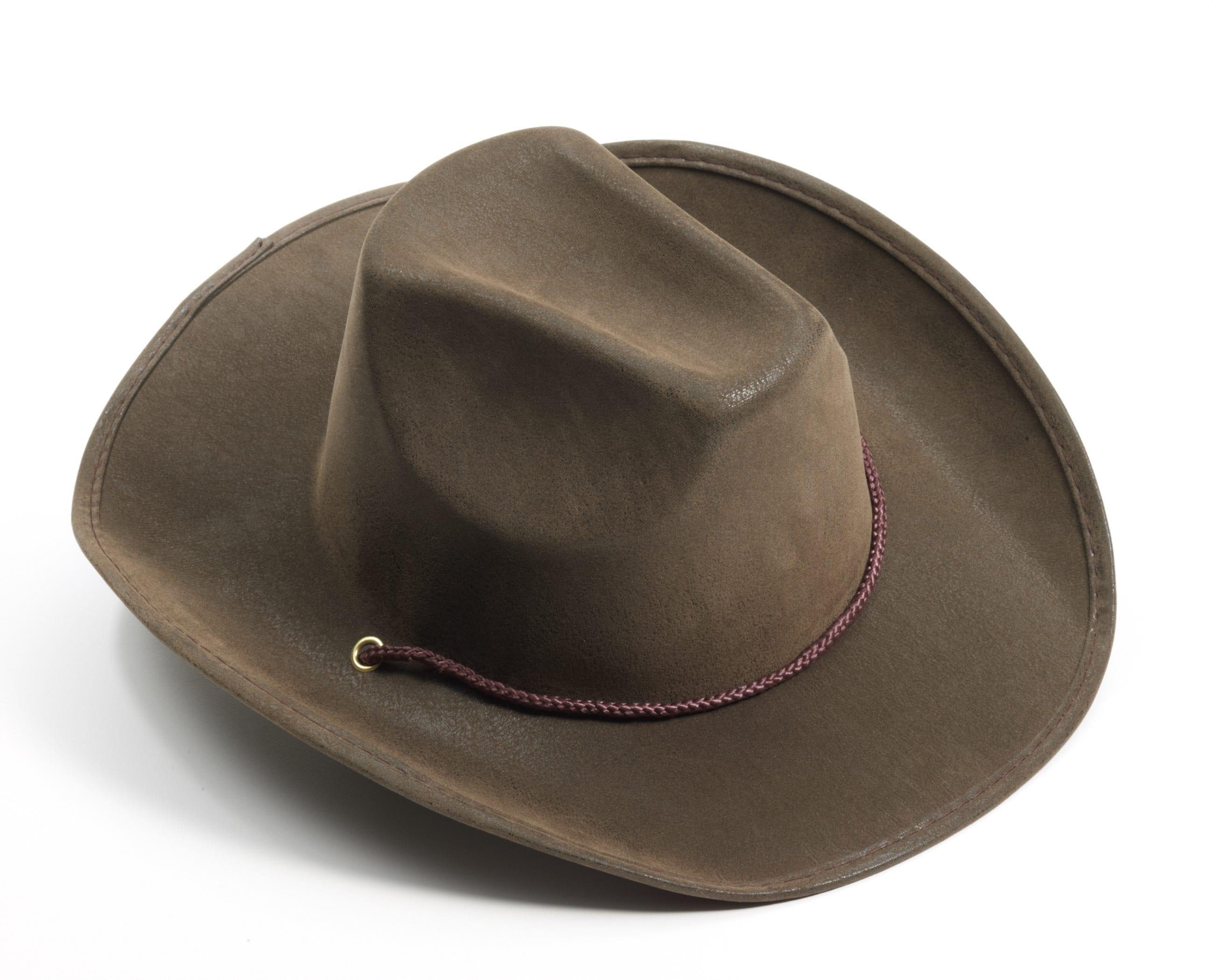 Brown Suede Hat-0