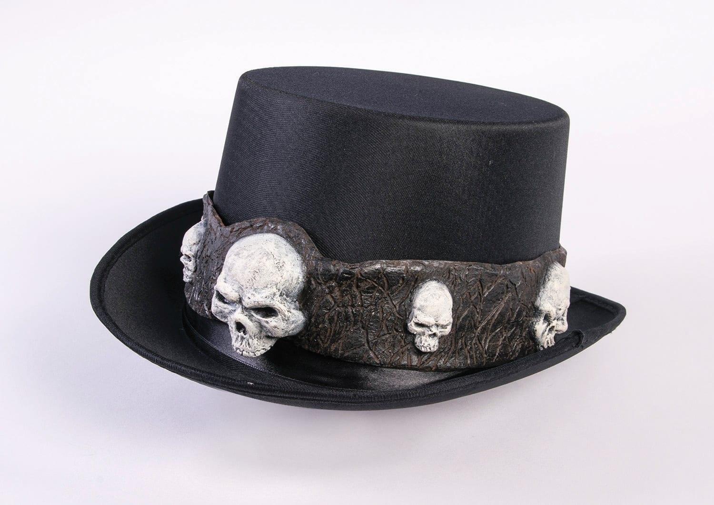 Top Hat with Skulls-0