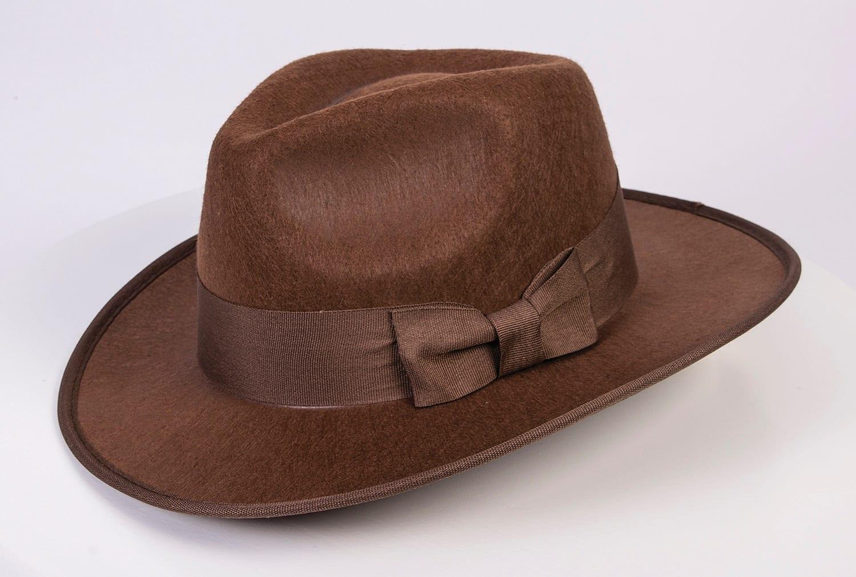Brown Adventurer Hat-0