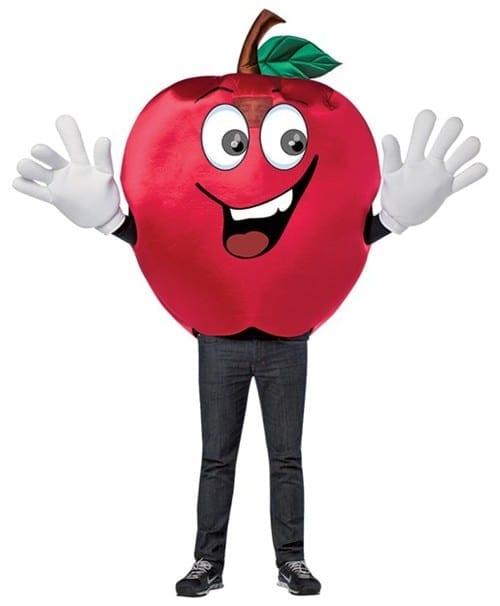 Apple Waver Mascot Costume-0