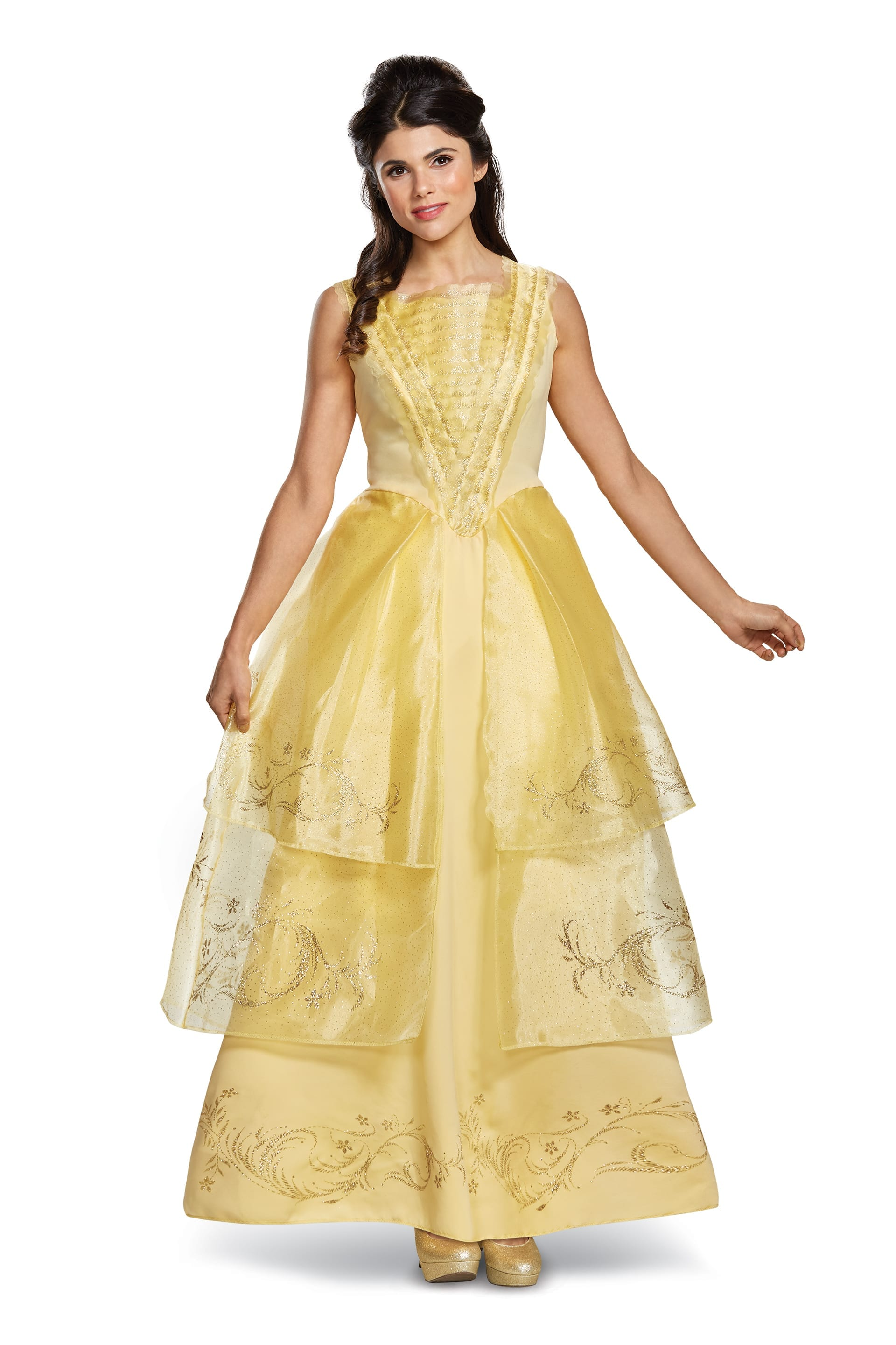 Belle Ball Gown Deluxe Adult -0