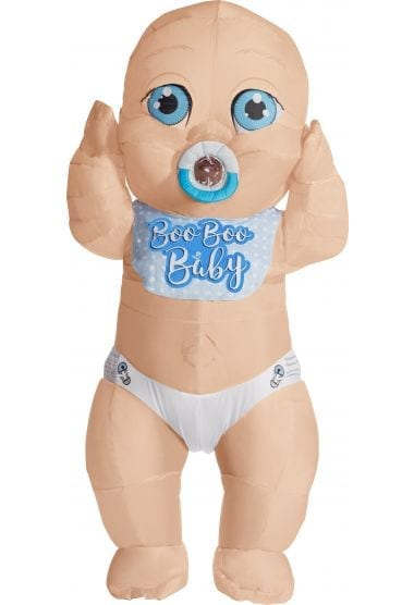 Boo Boo Baby Inflatable Adult Costume -0