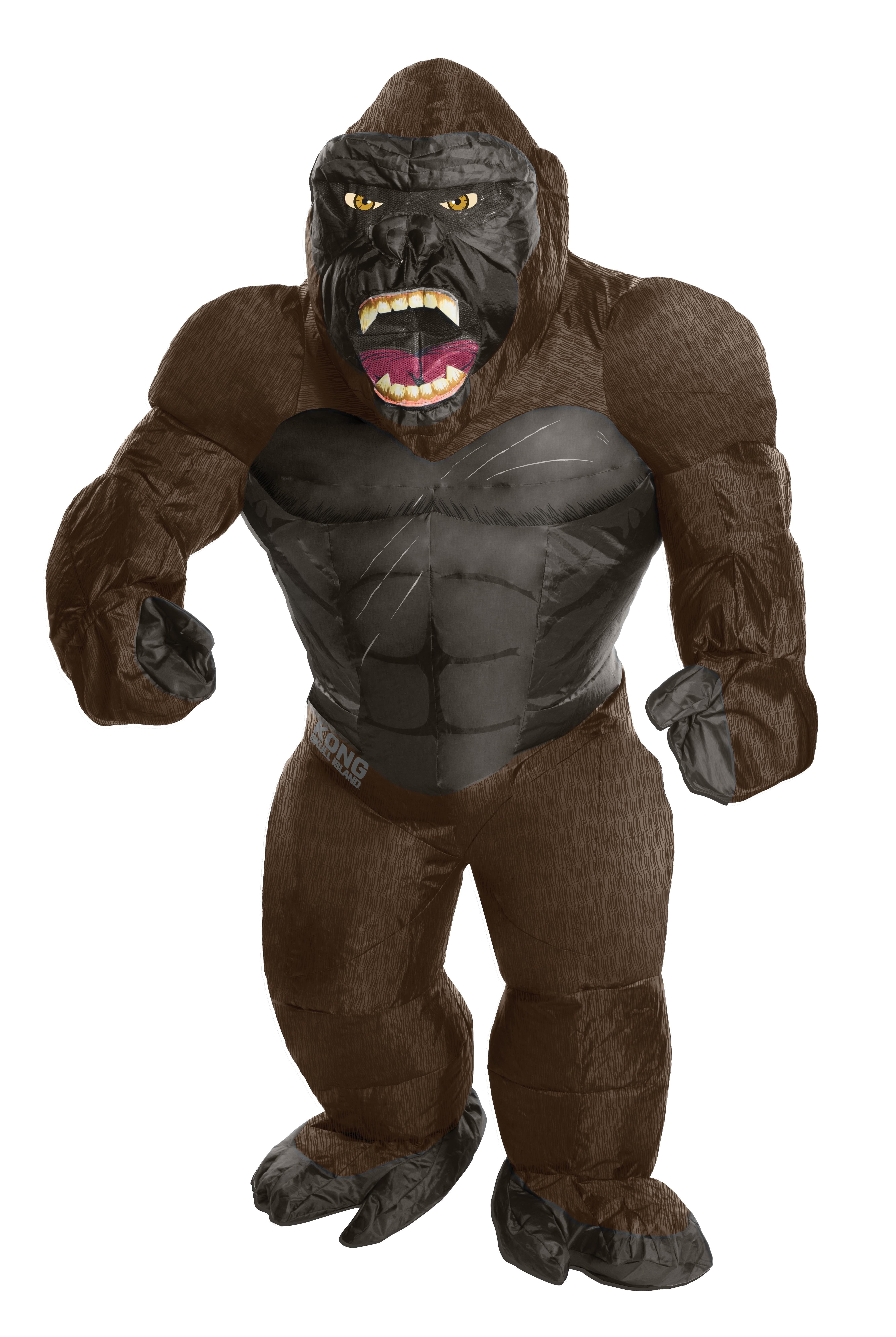 King Kong Inflatable Adult Costume -0
