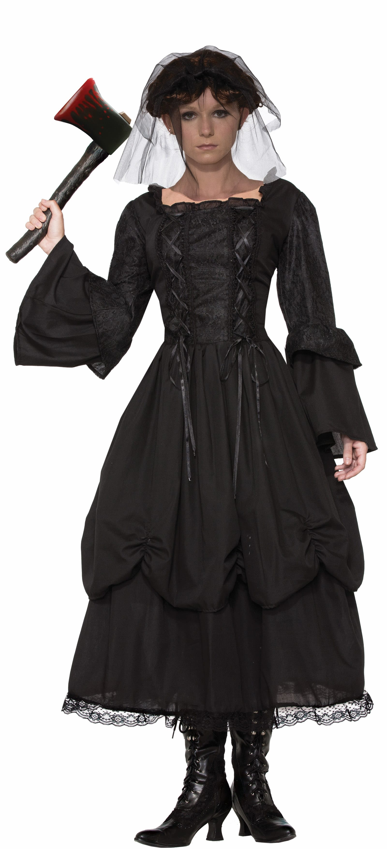 Miss Lizzie - Classic Crimes Adult Women's Costume -0