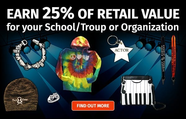 Become a school Affiliate, Earn 25% of retail value