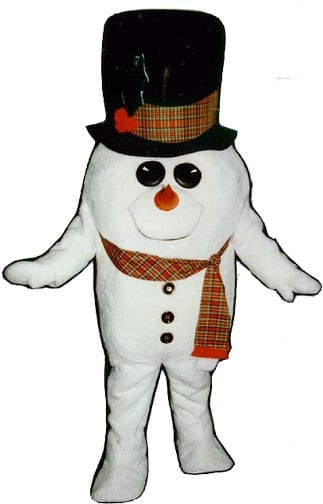 Madcap Snowman with Scarf-0