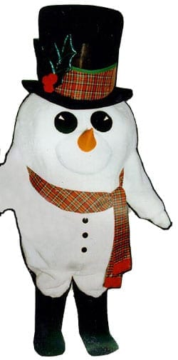 Madcap Snowman with Scarf & Boots-0
