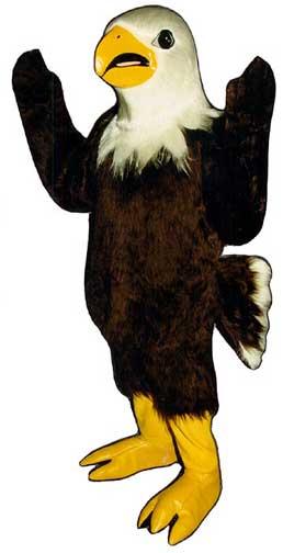 Eagle Mascot Costume-0