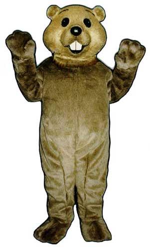 Cute Groundhog Mascot Costume-0