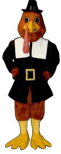 Tom Gobble Mascot Costume-0