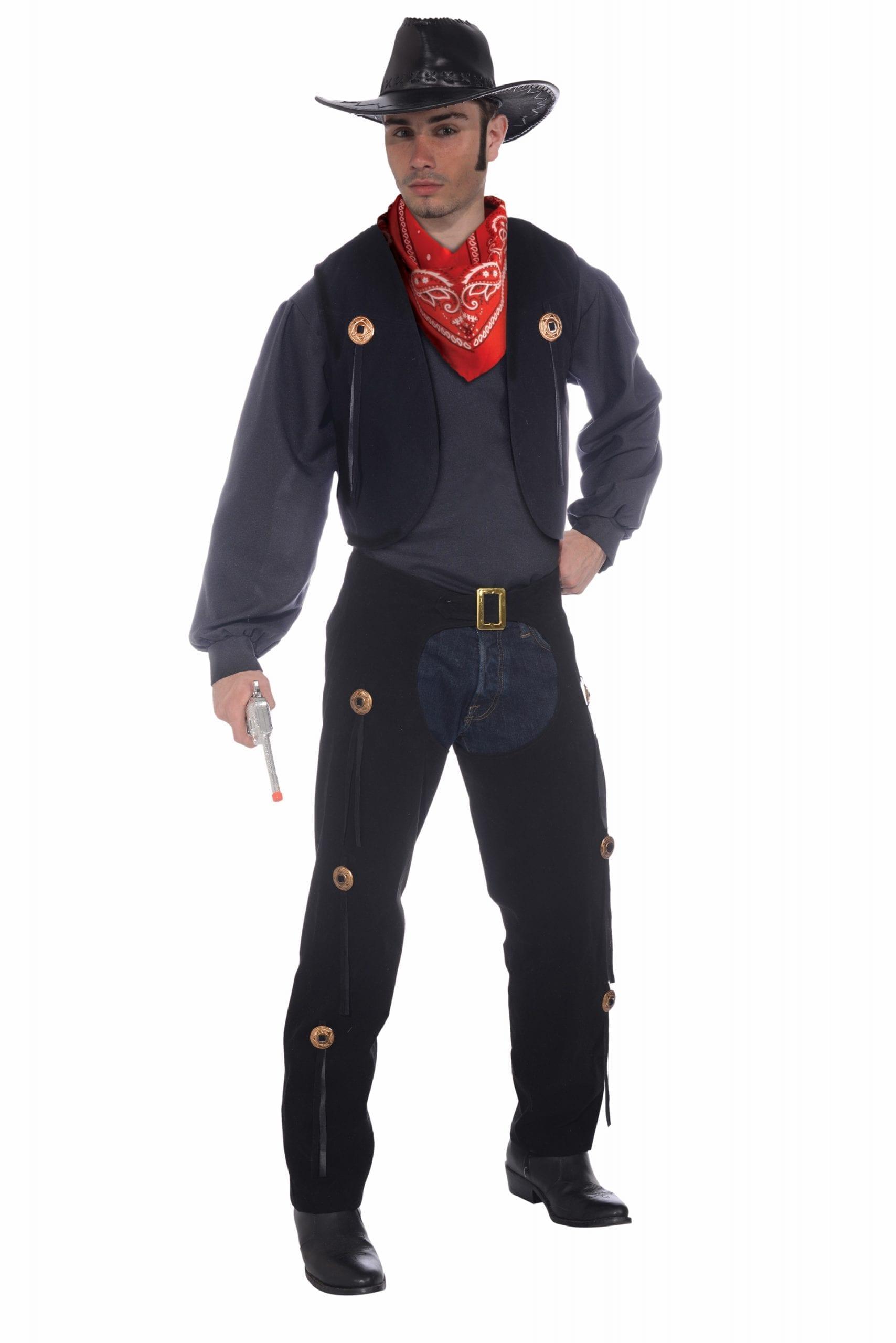 Cowboy Vest and Chaps-0
