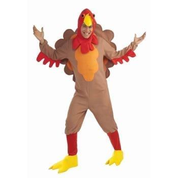 Adult Fleece Turkey Costume-0